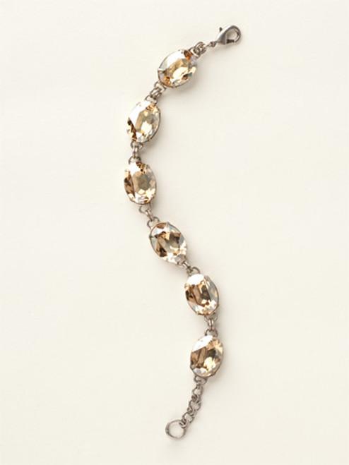 Soft Silhouettes Crystal Bracelet by Sorrelli BCY58ASDCH