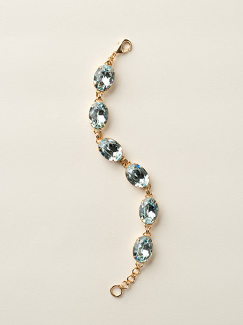Soft Silhouettes Crystal Bracelet by Sorrelli BCY58BGLAQ