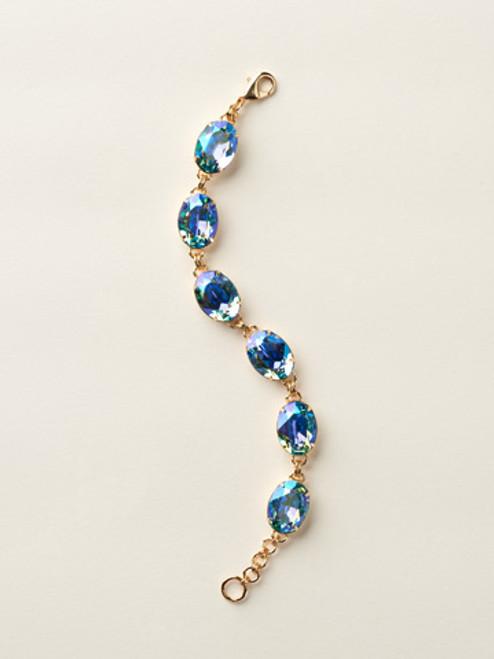 Soft Silhouettes Crystal Bracelet by Sorrelli BCY58BGAQA