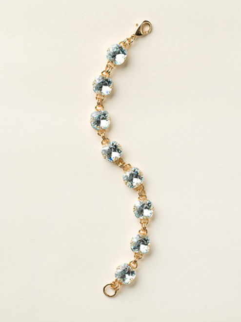 Soft Silhouettes Crystal Bracelet by Sorrelli BCY57BGLAQ