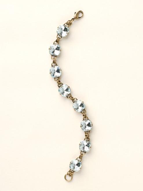 Soft Silhouettes Crystal Bracelet by Sorrelli BCY57AGLAQ