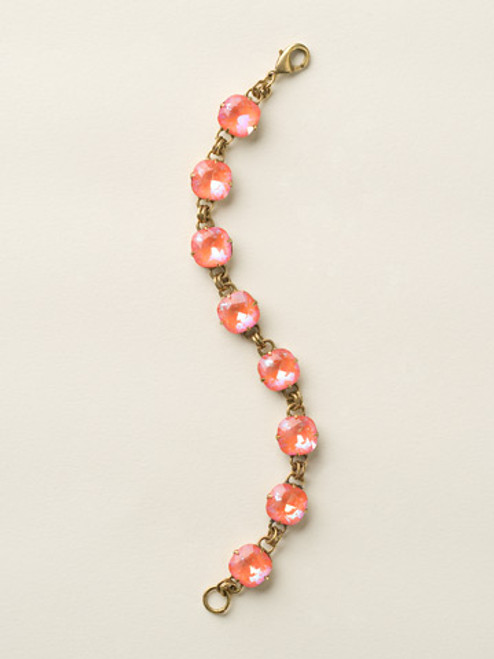 Soft Silhouettes Crystal Bracelet by Sorrelli BCY57AGUO