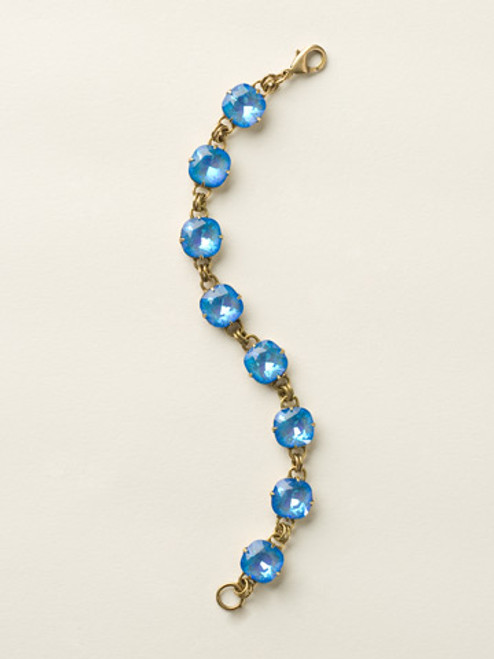 Soft Silhouettes Crystal Bracelet by Sorrelli BCY57AGUB