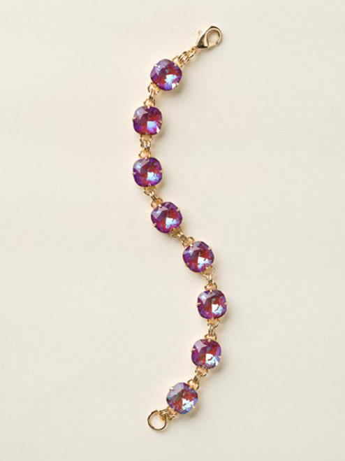 Soft Silhouettes Crystal Bracelet by Sorrelli BCY57BGUR