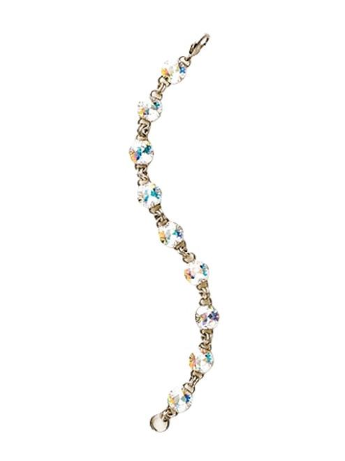 Sorrelli Crystal Aurora Borealis- Petite Cushion-Cut Classic Bracelet~ BCY56ASCAB