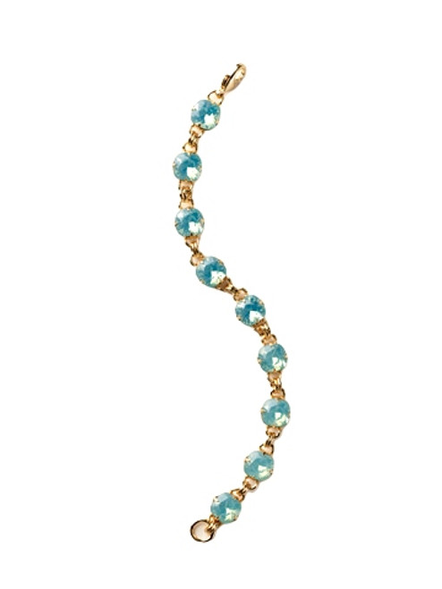 Pacific Opal- Soft Silhouettes-Crystal Bracelet by Sorrelli~ BCY56BGPAC