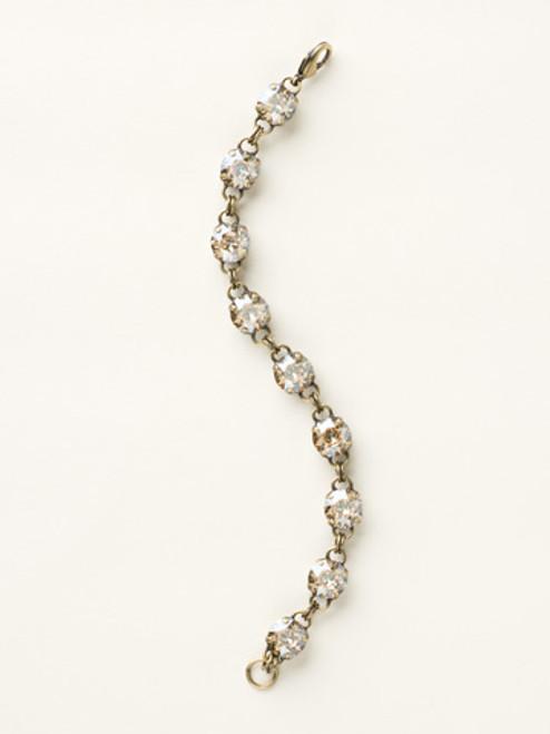 Soft Silhouettes Crystal Bracelet by Sorrelli BCY55AGDCH