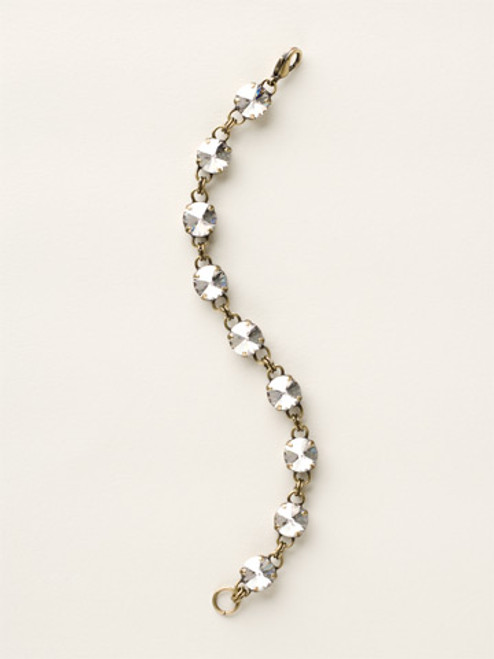 Soft Silhouettes Crystal Bracelet by Sorrelli BCY55AGSSH