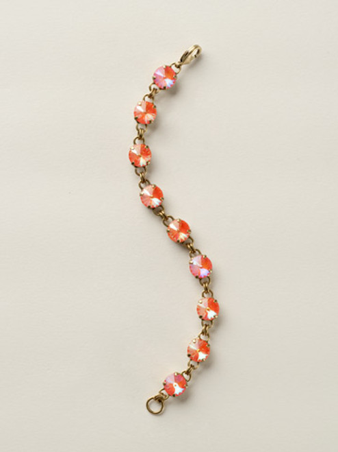 Soft Silhouettes Crystal Bracelet by Sorrelli BCY55AGUO