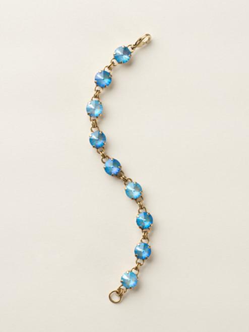 Soft Silhouettes Crystal Bracelet by Sorrelli BCY55AGUB