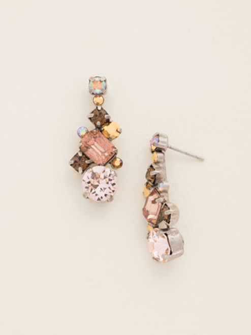 Sorrelli Sand Dune Crystal Earrings - Inspired Heirlooms
