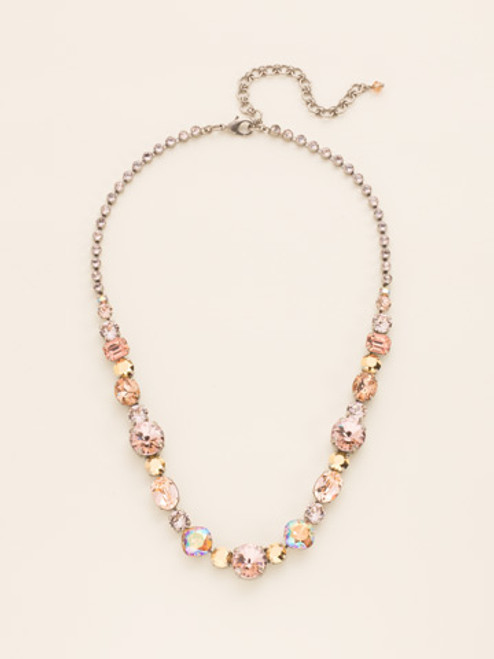 Sorrelli Sand Dune Crystal Necklace