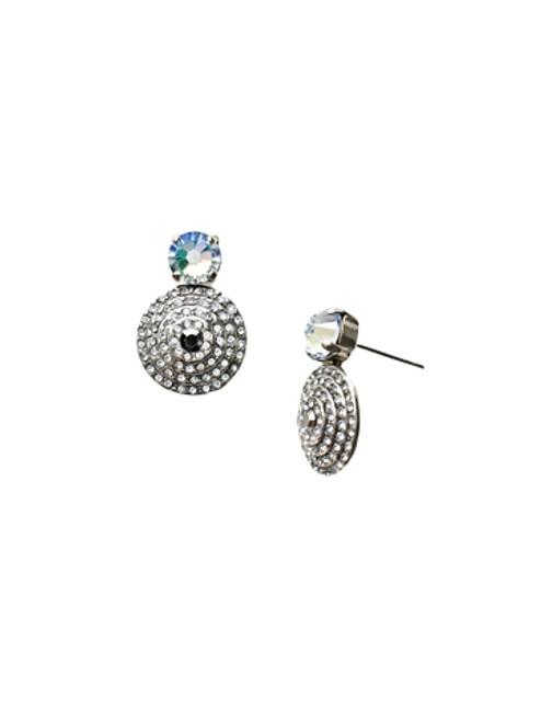Sorrelli Ice Blue- Pendant Post Earrings~ ECM16ASIB