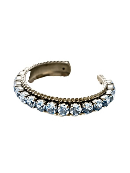 Sorrelli Ice Blue- Quintessential Cuff Bracelet~ BCN1ASIB