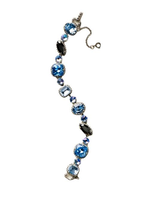 Sorrelli Ice Blue - Cushion Cut Crystal Bracelet~ BBX10ASIB