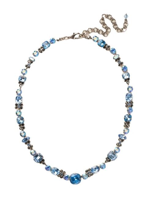 Sorrelli Ice Blue- Classic Clover Necklace~ NCD2ASIB