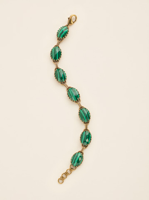 Sorrelli Wild Fern Crystal Bracelet