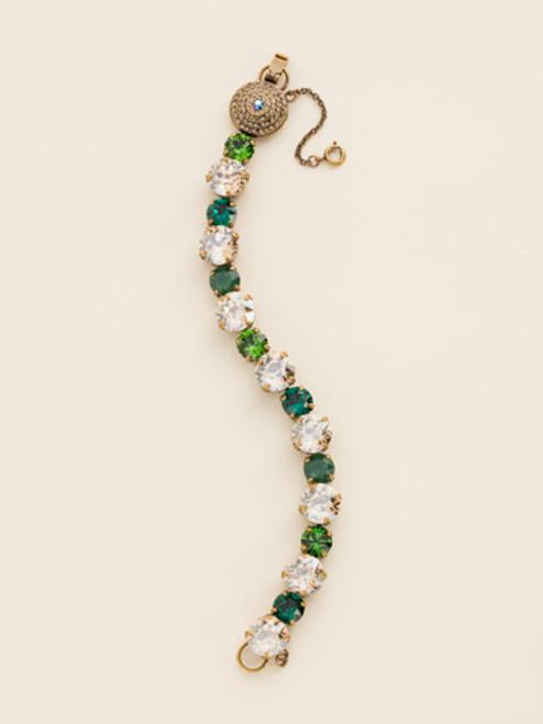 Fern Crystal Bracelet