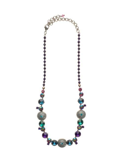 Sorrelli Northern Lights- Glam Overload Crystal Necklace~ NCM16ASNL