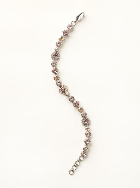 Sorrelli Satin Blush Crystal Bracelet bbe2assbl