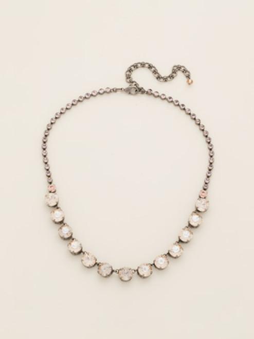 Sorrelli Satin Blush Crystal Necklace