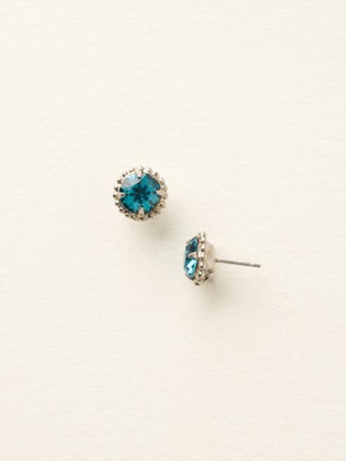 **SPECIAL ORDER**Sorrelli Essentials~Blue Topaz Crystal Earrings~EBY38ASBLU
