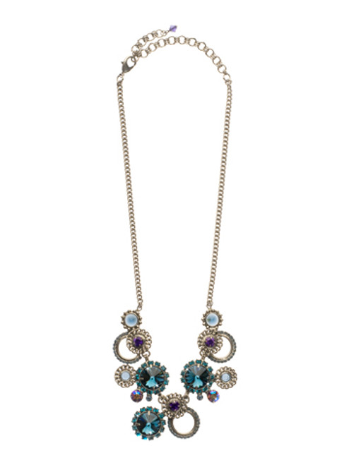 NORTHERN LIGHTS CRYSTAL NECKLACE BY SORRELLI NCQ48ASNL