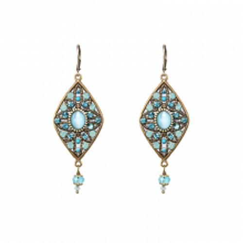 Poseidon's mythic island Best  EARRINGS
