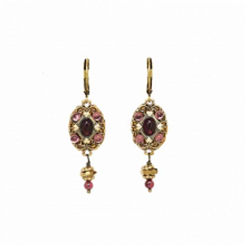GARNET COLLECTION EARRINGS