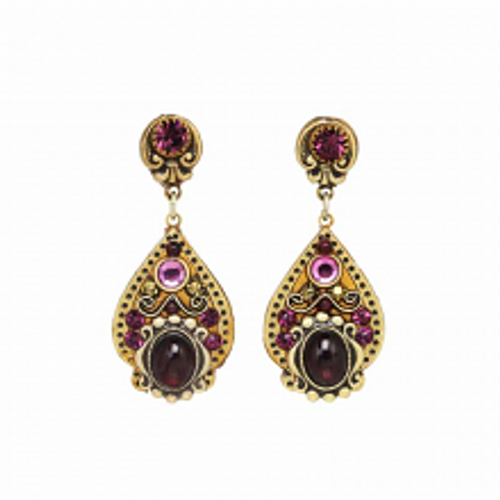 MICHAL GOLAN GARNET COLLECTION EARRINGS