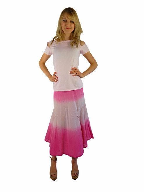 Double Dip Ombre Skirt