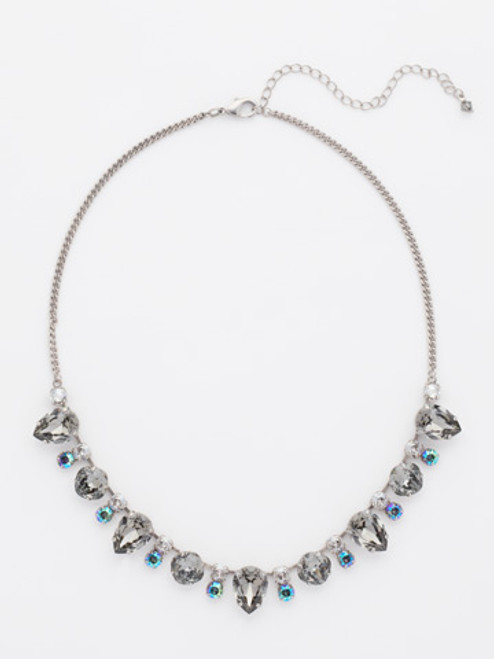 Crystal Rock Necklace by Sorrelli NCW27ASCRO