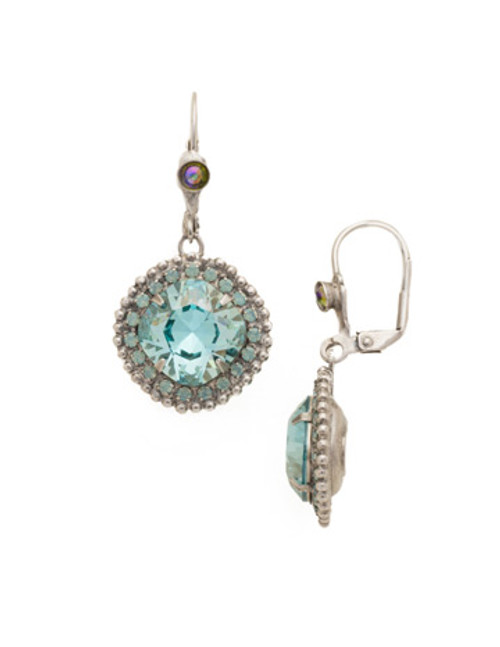 SORRELLI Teal Textile Earrings ECB20ASTT