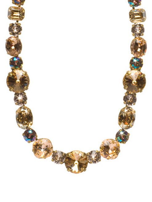 NEUTRAL TERRITORY CRYSTAL NECKLACE BY SORRELLI NCP38AGNT