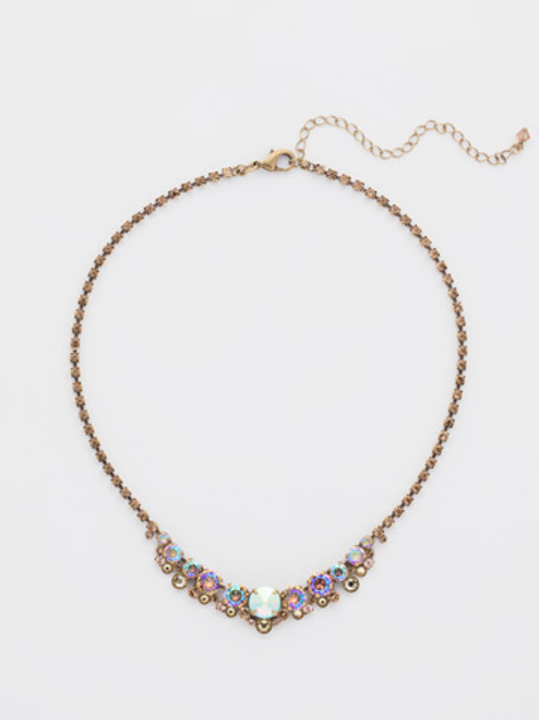 **SPECIAL ORDER**  NEUTRAL TERRITORY CRYSTAL NECKLACE BY SORRELLI~NCW11AGNT