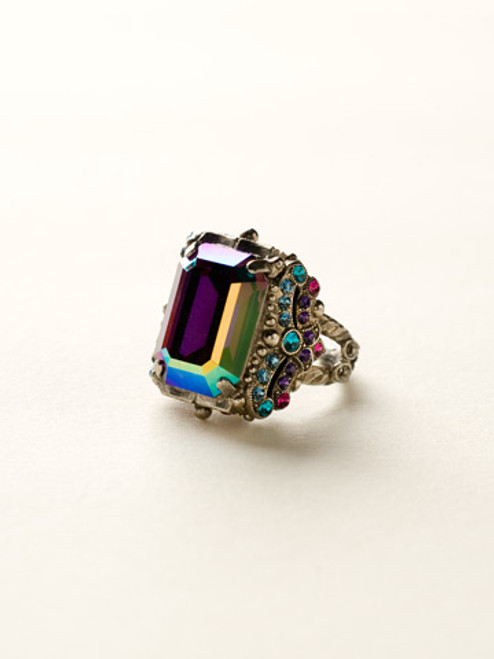 NORTHERN LIGHTS CRYSTAL RING By Sorrell RCK2ASNL