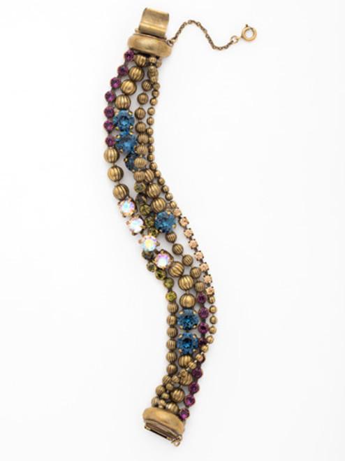 Sorrelli Aurora Sky Crystal Bracelet BCU37AGAUS