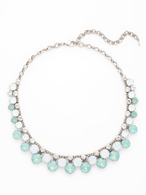 Sorrelli Aegean Sea Crystal Necklace NCT14ASAES