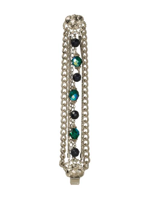 *Special Order* SORRELLI Emerald City Multi-Strand Crystal Bracelet BCK8ASEMC