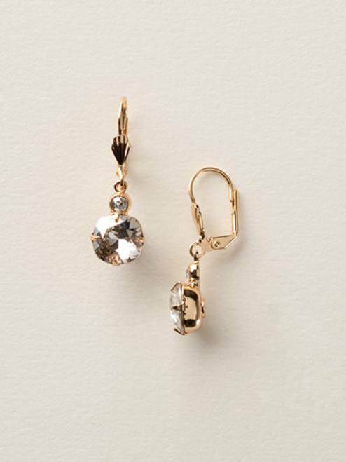 "Sorrelli ""Soft Silhouettes"" Petite Cushion-Cut Earrings ecy56bgssh"