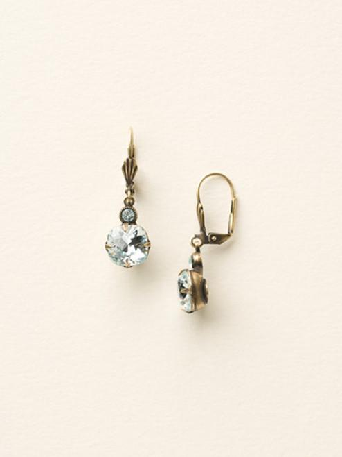 "Sorrelli ""Soft Silhouettes"" Petite Cushion-Cut Earrings ecy56aglaq"