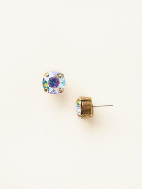 Sorrelli Essentials ~ Round Crystal Stud Earrings