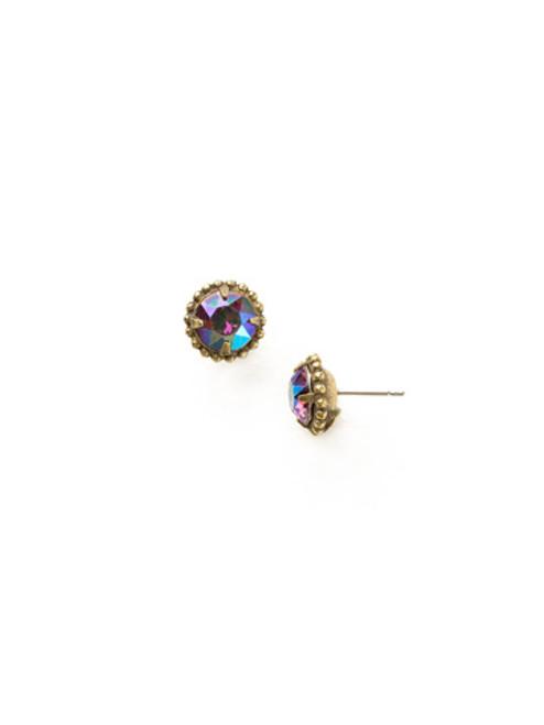 Sorrelli Essentials Volcano Crystal Earrings EBY38AGVO