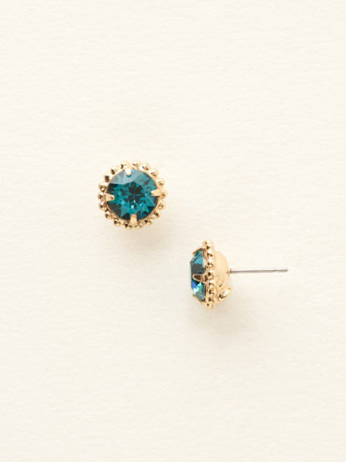 **SPECIAL ORDER**Sorrelli Essentials~Blue Topaz Crystal Earrings~EBY38BGBLU