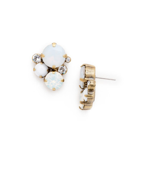 PEARL LUSTER Crystal Earrings by Sorrelli EDB11AGPLU