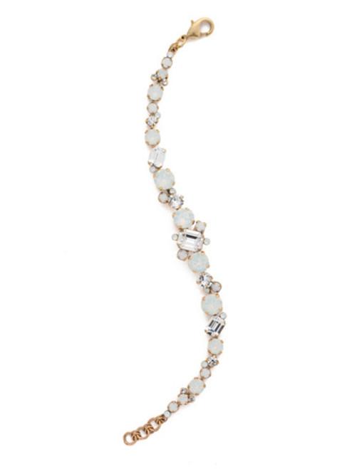 Sorrelli Pearl Luster Crystal Bracelet bcr137agplu