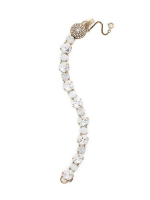 **SPECIAL ORDER**PEARL LUSTER Crystal Bracelet by Sorrelli~BCM16AGPLU