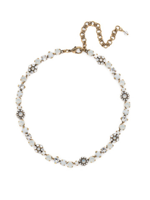 Sorrelli Pearl Luster Crystal Necklace