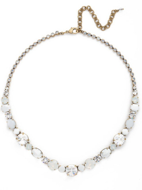 Luster Crystal Necklace