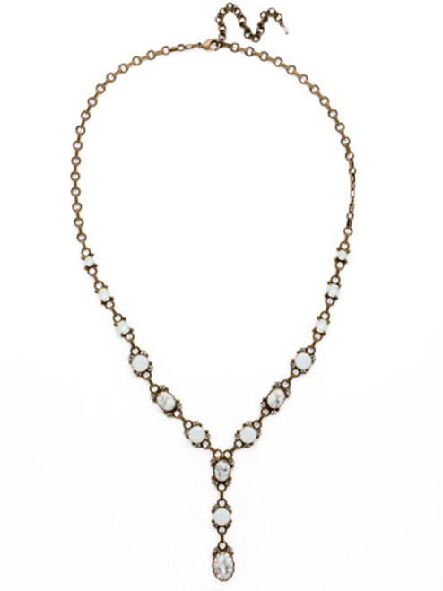 Pearl Luster Crystal Necklace ndh18agplu